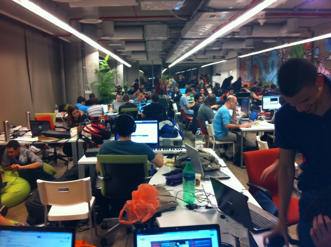 GGJ TLV was the 2nd largest GGJ site with ~400 people!